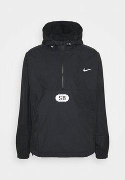 Nike SB - ANORAK UNISEX - Windbreaker - black