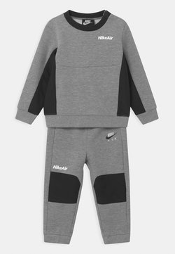 Nike Sportswear - AIR CREW SET - Survêtement - dark grey heather