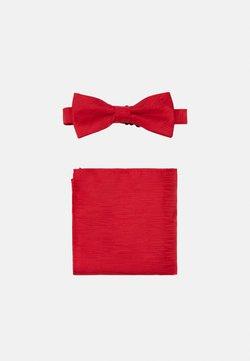 Only & Sons - ONSTANNER BOW TIE BOX SET - Einstecktuch - pompeian red