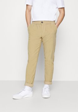 Redefined Rebel - RON PANTS - Stoffhose - sand