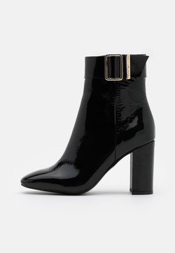 Tommy Hilfiger - SQUARE TOE BOOT - High Heel Stiefelette - black
