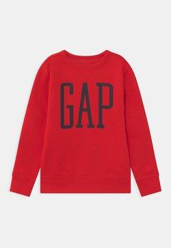 GAP - BOY LOGO CREW - Collegepaita - pure red