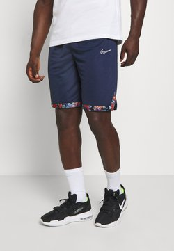 Nike Performance - DRY DNA SHORT - Pantalón corto de deporte - college navy/team orange/white