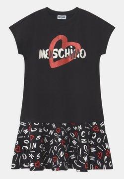 MOSCHINO - Jerseykleid - black