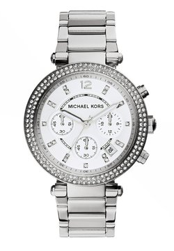 Michael Kors - PARKER - Montre à aiguilles - silver-coloured