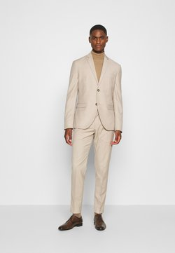 Isaac Dewhirst - PLAIN LIGHT SUIT - Costume - light brown