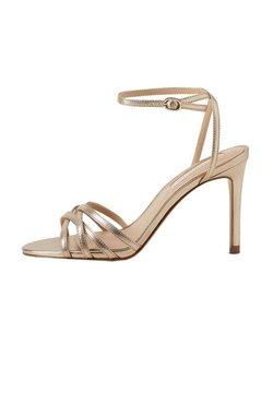 Mango - ORCA - High Heel Sandalette - gold
