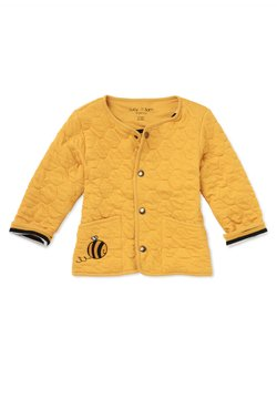 Lucy & Sam - JACKET HONEY COMB QUILTED JACKET - Übergangsjacke - mustard