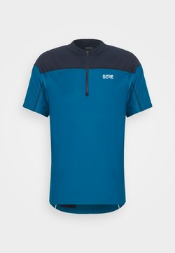 Gore Wear - ZIP - T-Shirt print - sphere blue/orbit blue