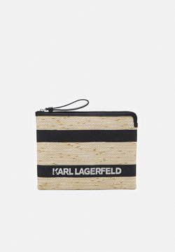 KARL LAGERFELD - SKUARE POUCH LOGO - Pikkulaukku - black