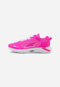 Puma - MINIMA  - Zapatillas de running neutras - luminous pink/white