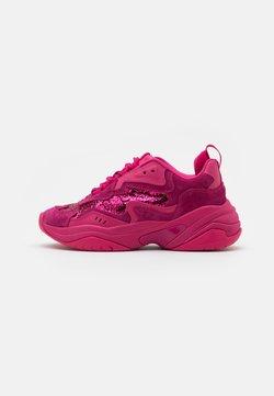 Tamaris Fashletics - LACE UP - Sneakers laag - hot pink