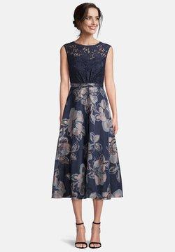Vera Mont - Cocktailkleid/festliches Kleid - dark blue light blue