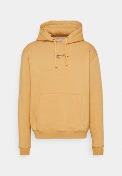 Karl Kani - SMALL SIGNATURE HOODIE UNISEX - Sweatshirt - beige