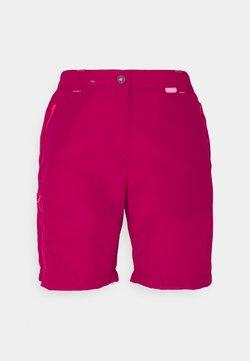 Regatta - CHASKA SHORT - Shorts - dark cerise