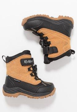 Kickers - JUMP - Snowboot/Winterstiefel - black/camel