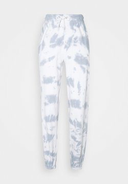New Look - TIE DYE JOGGERS - Jogginghose - dark grey