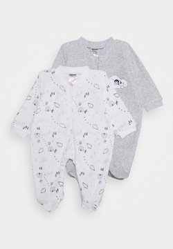 Jacky Baby - 2 PACK - Pyjamas - grey/white