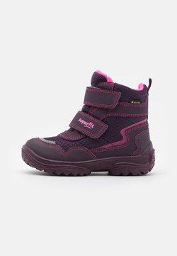 Superfit - SNOWCAT - Talvisaappaat - lila/rosa