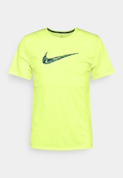 Nike Performance - BREATHE RUN  - Camiseta estampada - ghost green/dark teal green