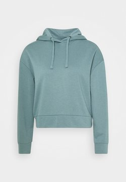 CALANDO - Bluza z kapturem - turquoise