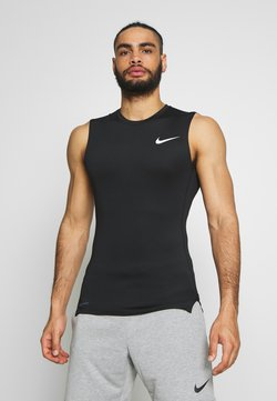 Nike Performance - M NP TOP SL TIGHT - Funktionströja - black /white