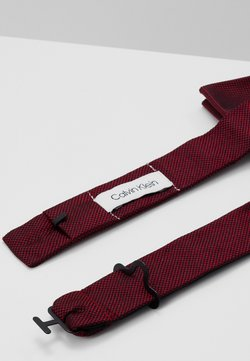 Calvin Klein - OXFORD SOLID BOW TIE - Noeud papillon - red