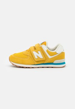 New Balance - PV574HB2 UNISEX - Matalavartiset tennarit - yellow