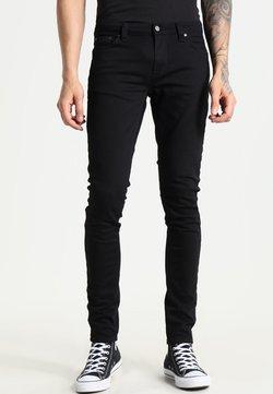 Nudie Jeans - LIN - Jeans Skinny Fit - black denim
