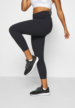 Under Armour - MERIDIAN CROP - Tights - black