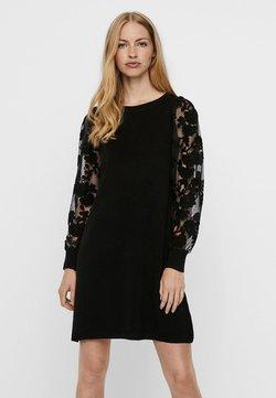 Vero Moda - Strickkleid - black