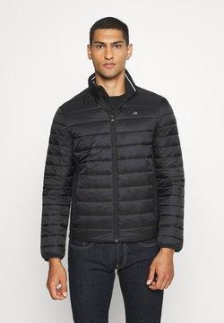 Calvin Klein - LIGHT WEIGHT SIDE LOGO JACKET - Lett jakke - black