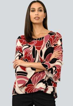Alba Moda - Bluse - schwarz Rot beige