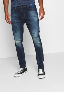 Brave Soul - CAMERON - Slim fit jeans - dark blue wash