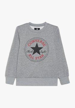 Converse - CHUCK PATCH CREW - Bluza - dark grey heather