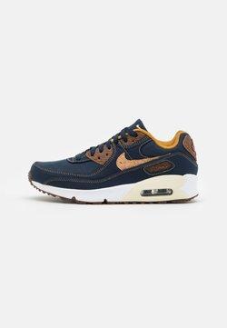 Nike Sportswear - AIR MAX 90 SE UNISEX - Sneakers laag - obsidian/wheat/coconut milk/white