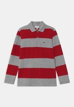 Lacoste - Poloshirt - silver/alizarin