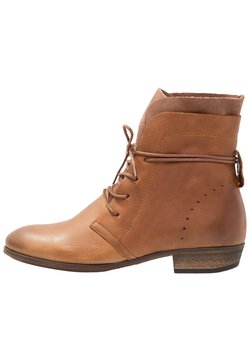 HUB - HALLY - Veterboots - cognac/natural