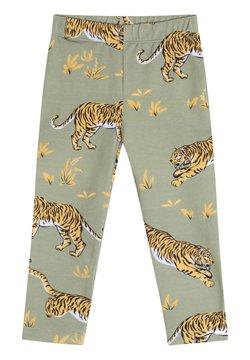 The Striped Cat - Legging - khaki green