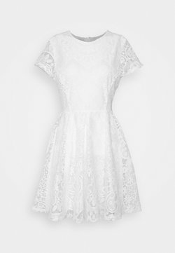 WAL G. - AVERI SKATER DRESS - Cocktailkjoler / festkjoler - white