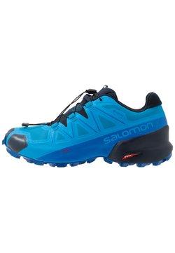 Salomon - SPEEDCROSS 5 GTX - Laufschuh Trail - blue aster/lapis blue/navy blazer
