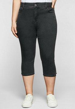 Sheego - Jeans Skinny Fit - black denim