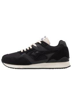 KangaROOS - RACER 2  - Sneaker low - jet black/beige