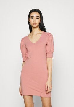 ONLY - ONLEMMA PUFF SLEEVE - Vestido ligero - old rose