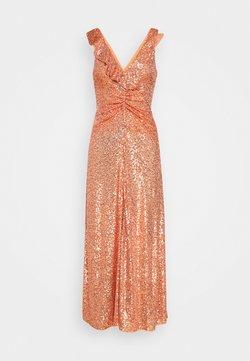 Pinko - AUSTRALE DRESS - Cocktail dress / Party dress - terracotta