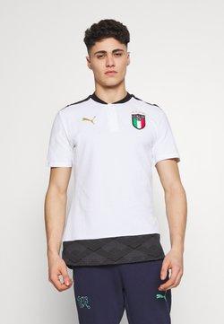Puma - ITALIEN CASUALS - Voetbalshirt - Land - white/gold