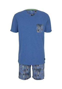 TOM TAILOR - SET - Pyjama - blue-medium-allover