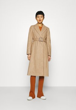 Dorothy Perkins - BELT WRAP - Wollmantel/klassischer Mantel - camel