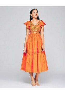 NIZA - Cocktailkleid/festliches Kleid - naranja