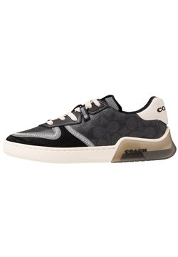 Coach - SIGNATURE TECH COURT - Sneaker low - charcoal/black